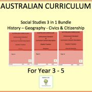 Australian Curriculum Resources - save 20% off individual prices Australian Curriculum Resources - checklists to help you track your students against the Australian curriculum Achievement Standard & Curriculum. Leaving you more time to teach!