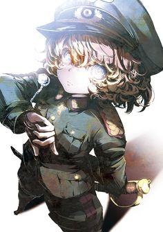 Youjo Senki / Saga of Tanya the Evil art Manga Art, Manga Anime, Anime Art, Tanya Degurechaff, Character Art, Character Design, Evil Anime, Animé Fan Art, Tanya The Evil