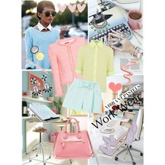 How To Wear Pastels for the Office Outfit Idea 2017 - Fashion Trends Ready To Wear For Plus Size, Curvy Women Over 20, 30, 40, 50