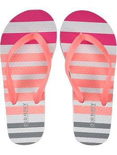 9b2339627bd8 Girls Printed Flip-Flops (Old Navy 5-16) Old Navy Girls