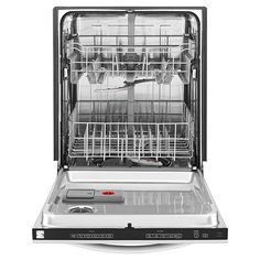 "Kenmore - 13293 - 24"" Built-In Dishwasher w/ Stainless-Steel Tub - Stainless Steel 
