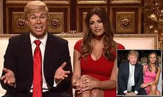 'To the Jews, happy Hanukkah, to the Muslims, send me your names': Saturday Night Live skewers Donald Trump in holiday-themed opening skit   Daily Mail Online