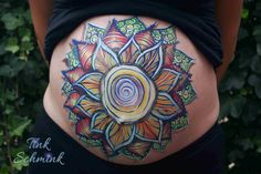 Bellypaint by Tink Schmink, Amersfoort Bump Painting, Face Art, Body Art, Tattoos, Tatuajes, Tattoo, Body Mods, Tattos, Makeup Art