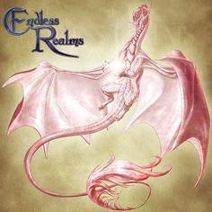 Endless Realms bestiary - Rose Quartz Dragon by jocarra on DeviantArt Mythical Creatures Art, Magical Creatures, Fantasy Creatures, Pink Dragon, Dragon Egg, Chibi, Fantasy Dragon, Fantasy Rpg, Cool Dragons