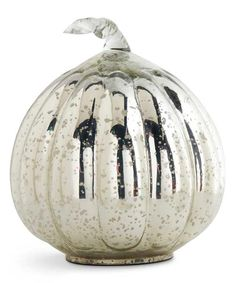 Look at this Mercury Glass Pumpkin on #zulily today!