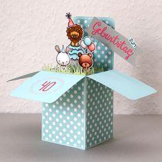 Annikarten—Birthday Box Card