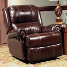 Parker House Aries Leather Glider Recliner & Reviews | Wayfair