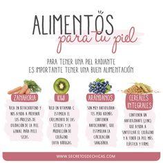 Alimentos Para La Piel _ Por Secretos De Chicas