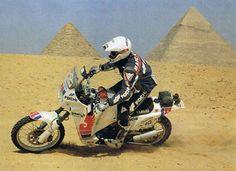Dakar Rally 2001 Kleinschmidt Miss Dakar