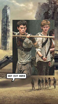 Dylan Thomas, Dylan O'brien, Maze Runner Trilogy, Maze Runner Cast, Maze Runner Movie, Maze Runner Series, Teen Wolf Boys, Teen Wolf Dylan, Thomas Brodie Sangster