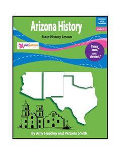 Arizona History Lesson-Common Core-Audio Included!