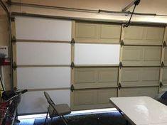 Cellofoam Garage Door Insulation Kit Door Insulation Kit - 8 pcs - The Home Depot - User submitted photo garage-organization-hacks - Diy Garage Storage, Home, Garage Door Insulation, Garage Decor, Garage Doors, Garage Insulation, Garage Renovation, Garage Door Design, Garage Door Types