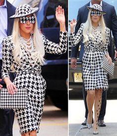 Lady-Gaga-with-Houndstooth-Dress-by-Salvatore-Ferragamo.jpg (600×700)
