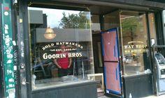 Goorin Bros. Hat Shop on Bedford Ave. in Williamsburg, Brooklyn