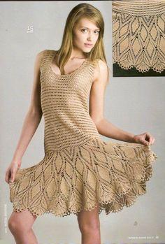 crochet cute summer dress