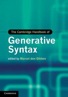 Cambridge Handbook of Generative Syntax