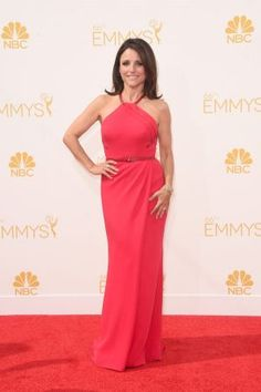 Julia Louis-Dreyfus in Carolina Herrera - Emmys 2014 red carpet photos.jpg