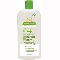 Encourage fun in the tub while keeping baby clean in an all-natural way with Babyganics® Foaming Shampoo & Body Wash and Bubble Bath & Body Wash. Non-toxic, plant-based and tear-free, your little one can have a splishy splashy good time while getting clean with these products that are available in either fragrance-free or lavender varieties.