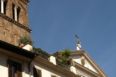 'Chiesa de Sant'Eustachio', Roma. /Tamara Velázquez - www.conlaplumaenbandeja.com  http://wp.me/p3HkWS-dF