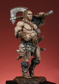 Fantasy 54mm : Barbarian