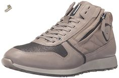 ECCO SOFT 2.0 Ladies Womens Leather Casual Retro Low Top Trainers Moon Rock
