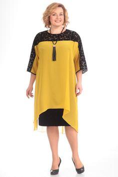 Платье Pretty 530 желтый