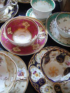 Victorian Cups by Vintage Tea Sets