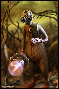 "~*~ I need this doll!! <3 ~*~(NECA)Tim Burton's ""9"" Action Figure"