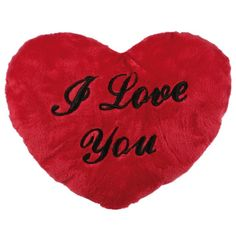 Heart Shaped Cushion - I Love You