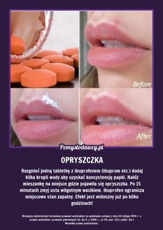 Pomysłodawcy.pl - Serwis bardziej kreatywny na Stylowi.pl Beauty Care, Hair Beauty, 1000 Life Hacks, Beauty Habits, Simple Life Hacks, Natural Cosmetics, Good Advice, Health And Beauty, Natural Remedies