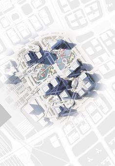 深圳北站商务区城市设计 / Mecanoo architecten - 谷德设计网