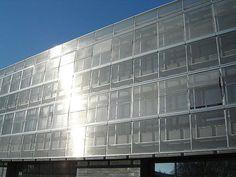 Mesh solar shading / metallic Stores niçois GKD - Gebr. Kufferath AG