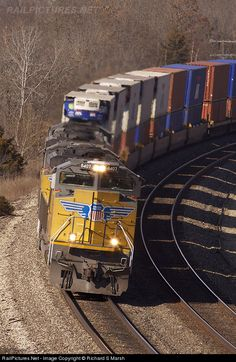RailPictures.Net Photo: UP 8407 Union Pacific EMD SD70ACe at Gorin, Missouri by Richard S Marsh