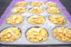 Apfeltörtchen im Muffinblech