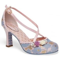 Introducing Evangline from Joe Browns Couture. Dare to be different in  these bold handcrafted shoes. In this Lilac combination with ornate flower  ...