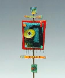 Maggi Debaecke Studio - One-of-a-kind contempory mixed metal and enamel jewelry and sculptures