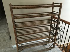 Industrial Factory Vintage Shoe Rack 1930's by UniqueAndFound