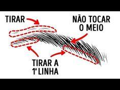 Marcação para Design de Sobrancelha - Gislene Ribeiro - YouTube