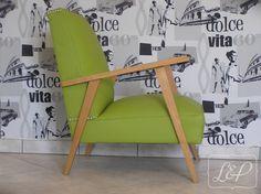 Fauteuil vintage à design scandinave restauré : Meubles et rangements par lin-et-patine