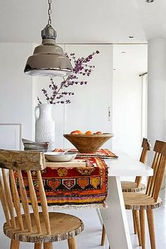 Design: Handmade and colorful rugs and kilims...