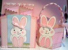 Easter Card and Matching Easter Basket