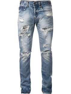 Shop Prps Japan ripped slim fit jeans in American Rag from the world's best independent boutiques at farfetch.com. Shop 300 boutiques at one address.