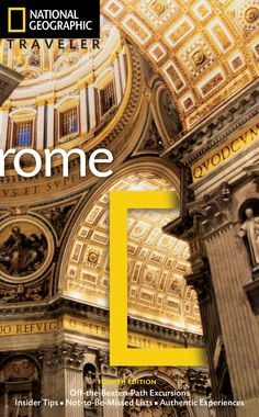 Complete with stunning photos and detailed information, our guide to Rome will help you make the most of your #getaway. Rome, 3rd Edition | National Geographic Store