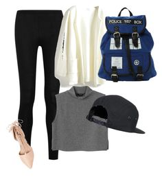 """""""Untitled #385"""" by preppycheer1 ❤ liked on Polyvore featuring Donna Karan, Ava & Aiden and Monki"""