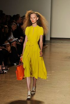 Marc by Marc Jacobs ... i never wear yellow but for this dress i will! haha
