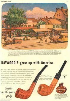 Vintage Kaywoodie ad