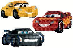 Hama Midi perler - gaveæske Disney Cars