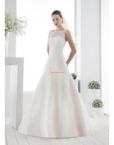 A-Linie Elegant & Luxuriös Natürlich Brautkleider 2014