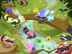 animal jam wallpaper codes | Right click on the image (ctrl + click) Select 'Save Image' Open ...