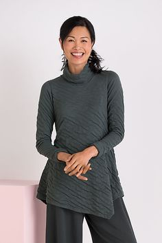 Cloud Tunic by Lisa Bayne: Knit Tunic available at www.artfulhome.com